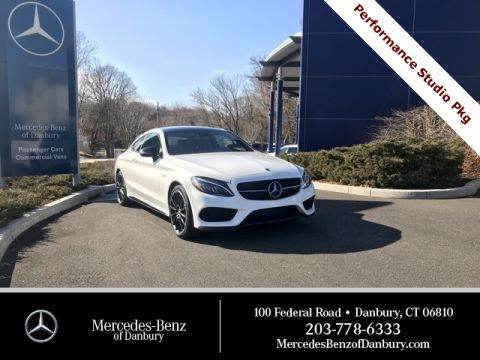 New 2018 Mercedes-Benz C-Class AMG® C 43 Coupe AWD 4MATIC®